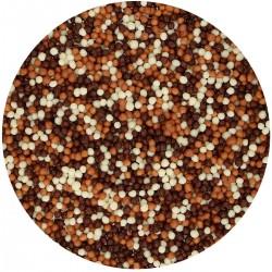 Mini perles en chocolat décoration gâteau chocolat minies billes comestible mélange