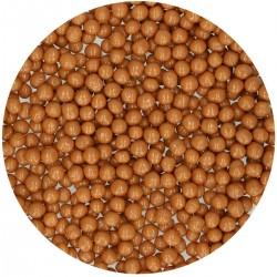 Perles en chocolat au caramel décoration chocolat caramel bille gâteau entremet