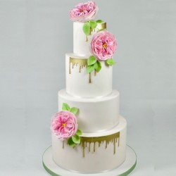 """Emporte-pièce """"Drip cake"""" gâteau chic décoration coulure effet"""