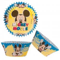 Caissettes cupcakes Mickey anniversaire disney fête caissettes papier