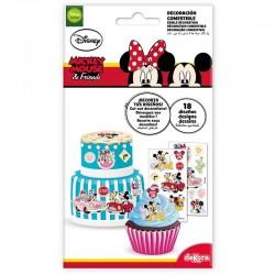 """Décorations """"Mickey & Minnie"""" disnay décoration gâteau fête anniversaire cupcake"""