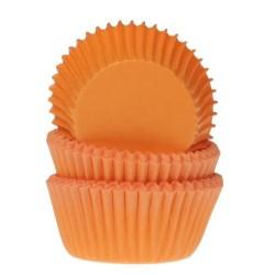 """Caissettes à mini cupcakes """"halloween"""" décoration orange cupcake gâteau fête anniversaire halloween"""