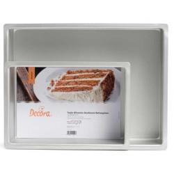 rectangular mold A3 and A4