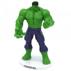 """Figurine """"Hulk"""" super héro vert fort gâteau décoration plastique"""