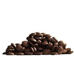 Chocolate Callets -noir, pépittes de chocola, pépittes chocolat noir, pépittes de chocolat pour pâtisserie, chocolat noir à fond