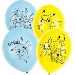 """ballon""""Pokémon"""" anniversaire pikatchu dessin annimé couvert table nape""""Pokémon"""" anniversaire pikatchu dessin annimé couvert tabl"""