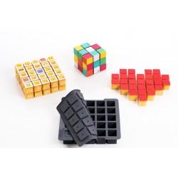 """Moule en silicone """"Cube"""" cubic gâteau moule forme cube rubiscube"""