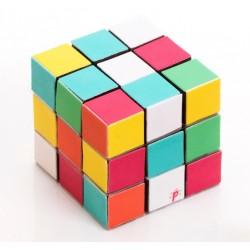 """Décorations en sucre """"Rubik's Cube"""" comestible sucre cube couleurs"""