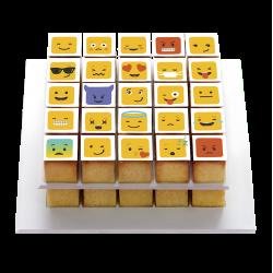 """Décorations en sucre """"Smiley"""" emoji comestible sucre rigolo"""
