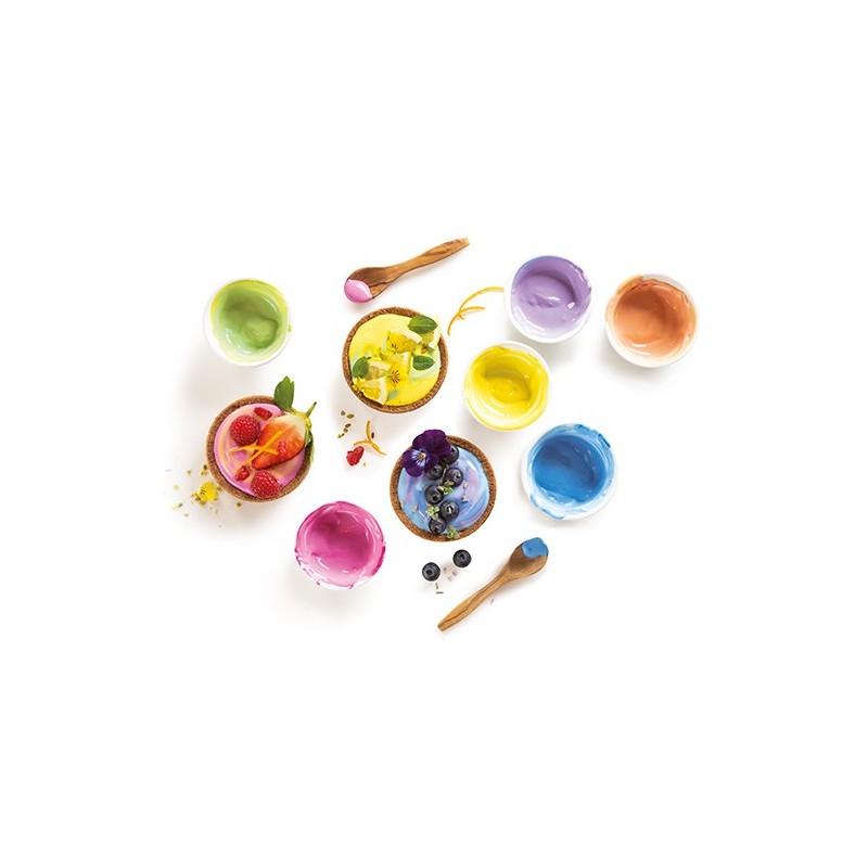 Kit of 3 food coloring powders