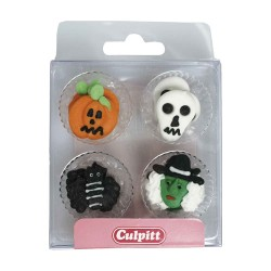 Sugar Decorations Halloween pk/12