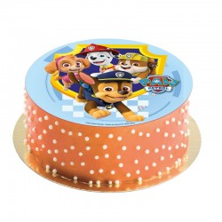 Azym cake topper Paw Patrol on cake