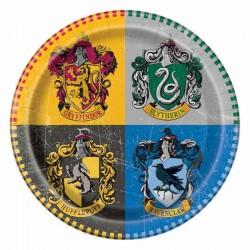 """Assiettes """"Harry Potter"""" anniversaire fête poudlard harry assiette table couvert"""