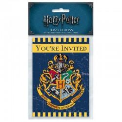"""cartes """"Harry Potter"""" anniversaire fête poudlard harry invitation"""