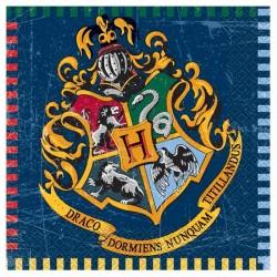 """serviettes """"Harry Potter"""" anniversaire fête poudlard harry assiette table couvert"""