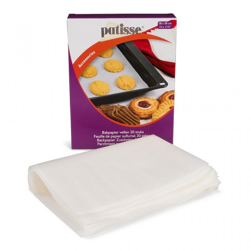 Feuille papier cuisson four gâteau papier cuisine sulfurisé