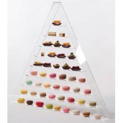 Support pyramidal à macaron