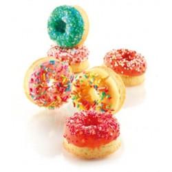 Moule à mini donuts en silicone donuts mini moule facile babas rhum