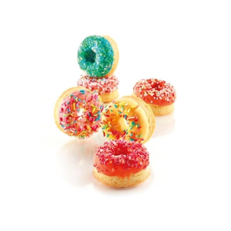 Mold Mini Donuts in silicone