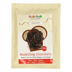 Schwarze Modellierschokolade