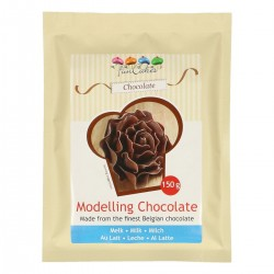 Milk modeling chocolate