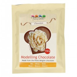 White modeling chocolate