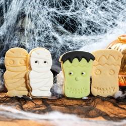 """Emporte-pièces """"Momie & Frankenstein"""" biscuits sablés pate à sucre"""