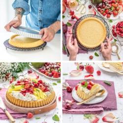 Moule à tarte renversée moule plat tarte tatin