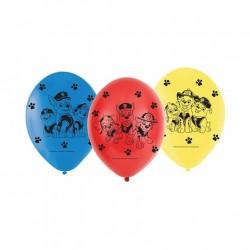 """Ballons """"Pat Patrouille"""" - 6pcs anniversaire fête pate  patrouille annimaux chien dessin annimé"""