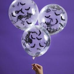 """Ballons """"Halloween"""" ballon fête décoration salle halloween chauve-souris"""