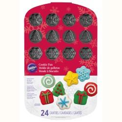 """Moule pour biscuits """"Formes de Noël"""""""