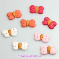 """Décorations en sucre """"Butterflies"""" pk/12"""