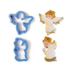 "Emporte-pièces ""Anges"" biscuit fêt noël ange"
