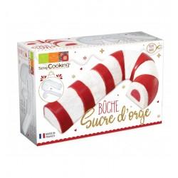 """Moule Bûche """"Sucre d'orge"""" entremet sucre d'orge noël bobon bûche originale moule"""