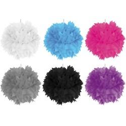 Pompoms, couleurs à choix