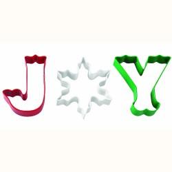 """Emporte-pièces """"Joy"""" Set/3"""