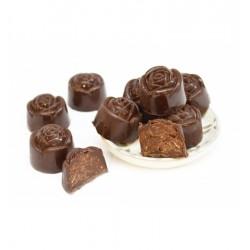 """Moule à chocolats """"Rose"""" forme fleurs chocolat moule truffe fête noël"""