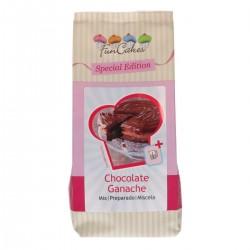 Ganache chocolat noir glaçage gâteau entremet ganache prête chocolat