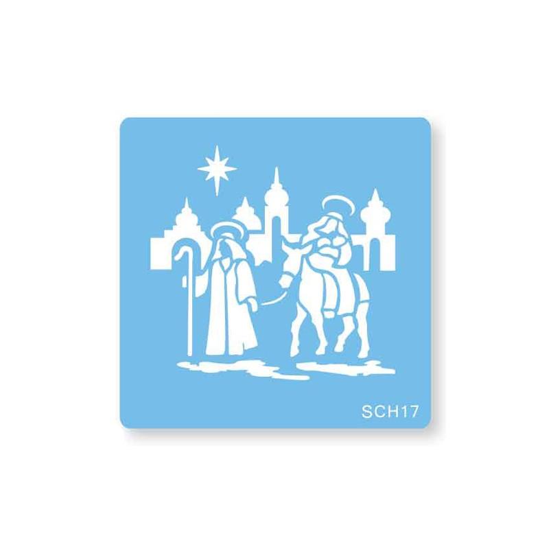 "Pochoir ""Nativité"""