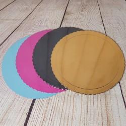 Plateau festonné différentes couleurs