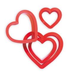 Emporte-pièces coeurs