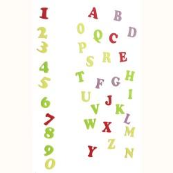 Alphabet & Numéro - Tappits Art Deco Majuscule