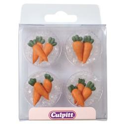"""Décorations en sucre """"carottes"""" - pk/12"""