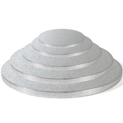 Runde Silber Tortenplatten