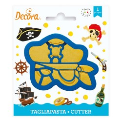 """Cookie cutter """"Pirate head"""""""