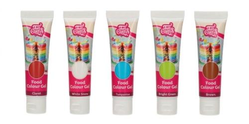 Edible gel colors for macaroons