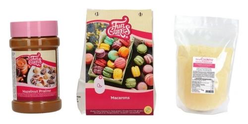 Macroons ingredients