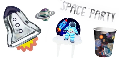 Everything for birthdays in space like Star Wars