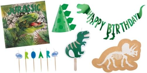 Pour tous les fans de dinosaures, décorations pour gâteaux