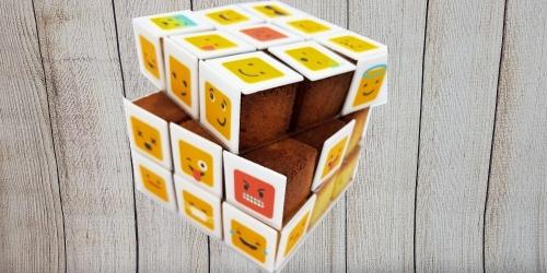 Cube et rubik's cube